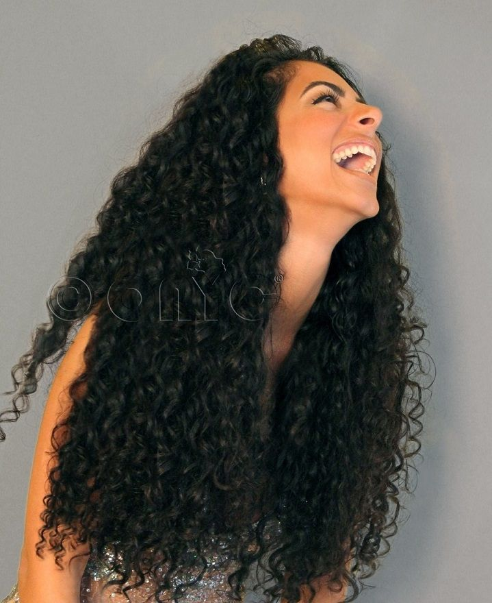 Curly Addiction 3b Machine Weft Buy Deep Curly Hair Weave
