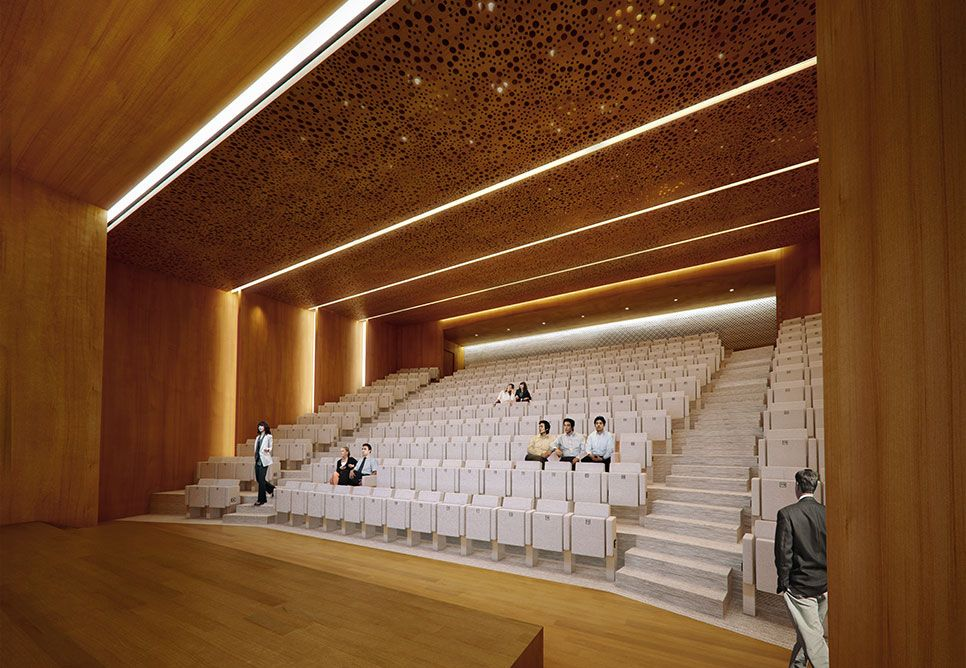 Auditorium U003d Designed To Allow Everyone To HEAR The Performance Easily