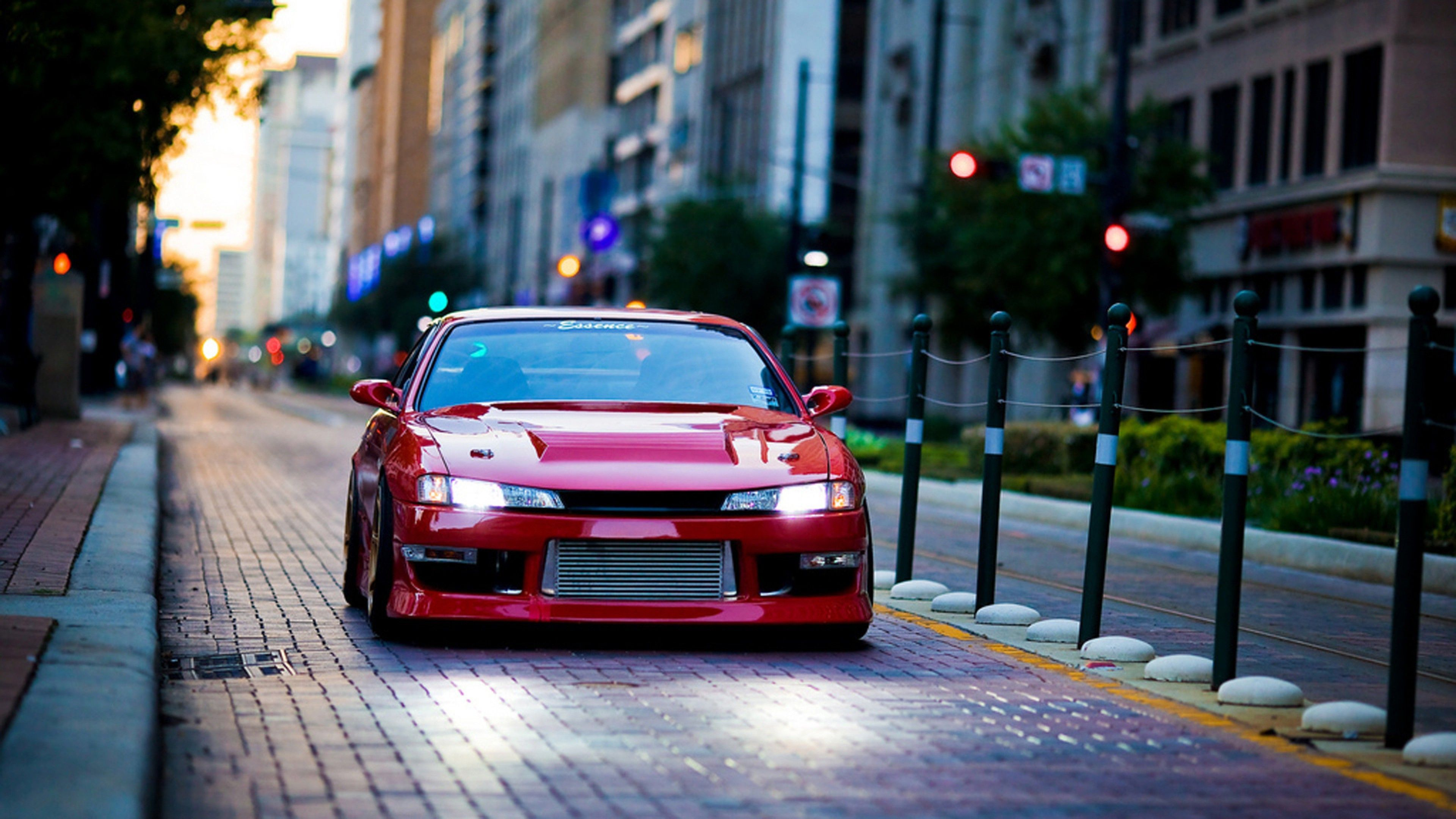Wallpapers Car Nissan Silvia S14 Automotive Lighting Nissan