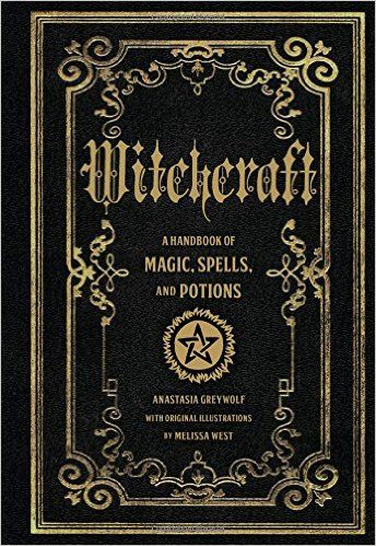 witchcraft a handbook of magic spells and potions amazon. Black Bedroom Furniture Sets. Home Design Ideas