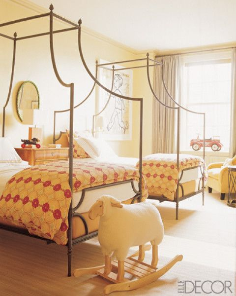 yellow and red are an ideal gender neutral color combination choose an engaging - Yellow Canopy Interior