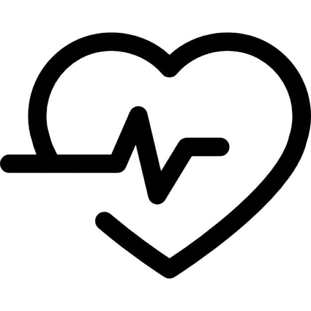 244 829 Free Vector Icons Of Medical Heart Outline Medical Icon Heart Icons