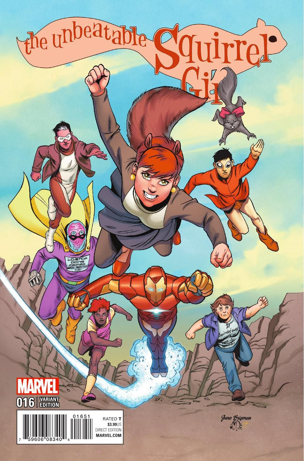 Preview: The Unbeatable Squirrel Girl #16, Story: Ryan North Art: Erica