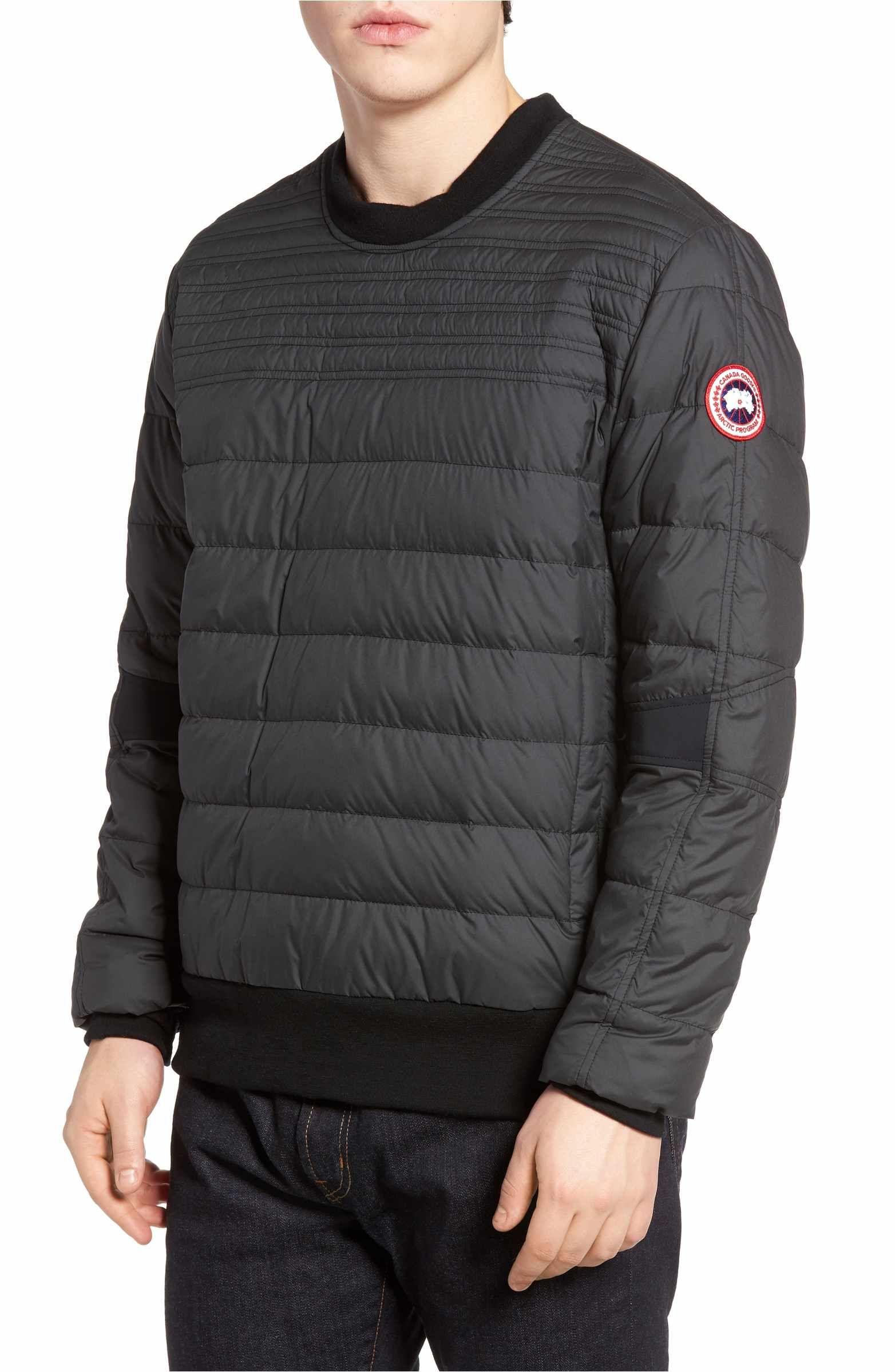 Canada Goose Albanny Regular Fit Water Resistant Down Shirt Nordstrom Mens Sweatshirts Hoodie Mens Outfits Hoodies Men