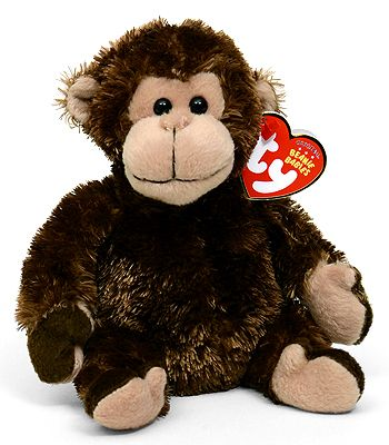TY Beanie Baby - MWMTs Stuffed Animal Toy 5.5 inch CONGO the Gorilla