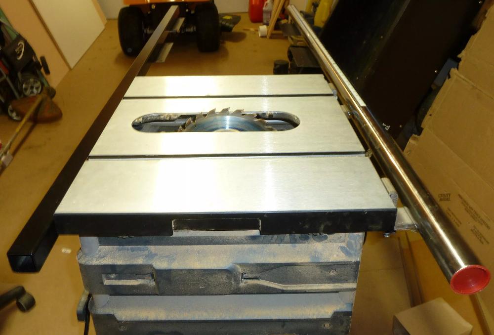 Table Saw Upgrade Kobalt KT1015 Fence to a Vega PRO 50
