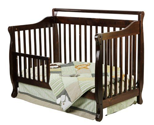 Dream On Me Addison 4 In 1 Convertible Mini Crib White Mini Crib Cribs Baby Cribs