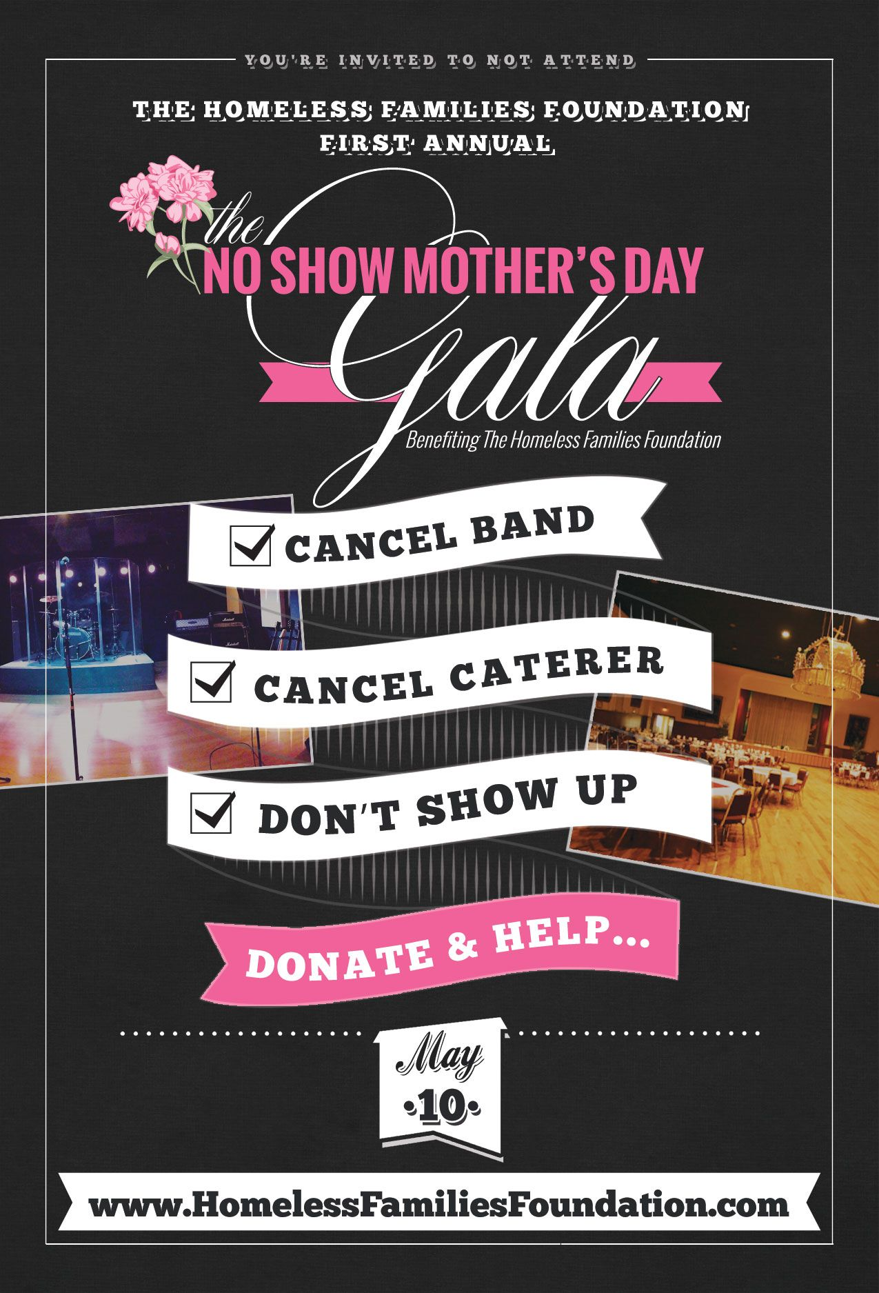 no show mother s day gala 2015 event fundraiser for homeless