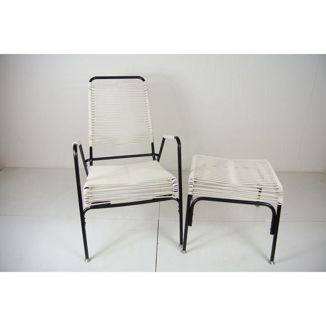 Aimes Aire Lounge Chair Ottoman Set Aimes Aire Patio Furniture
