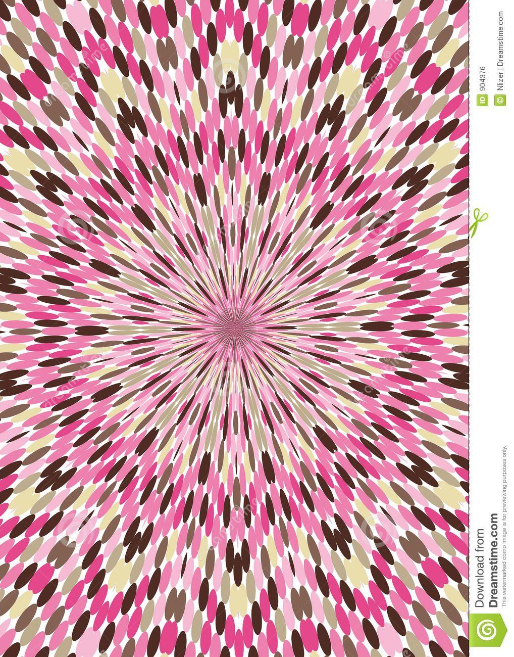 Pink Brown Kaleidoscope Wallpaper Background Royalty Free Stock ...