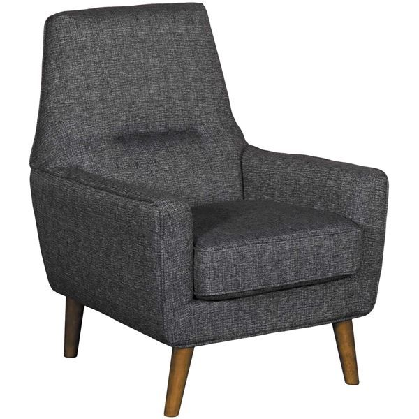 American Furniture Warehouse Online Shopping: Violetta Charcoal Modern Accent Chair By JGW Furniture Is