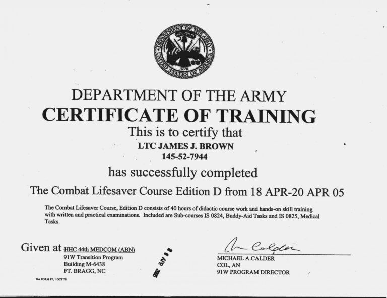 Editable Ideas Of Army Drivers Training Certificate