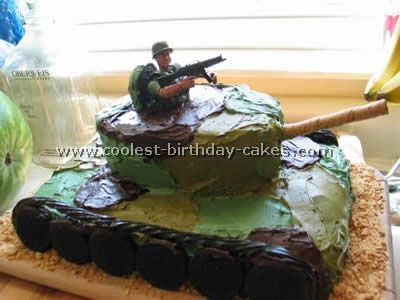 Coolest Army Cake Ideas and Decorating Techniques Army birthday