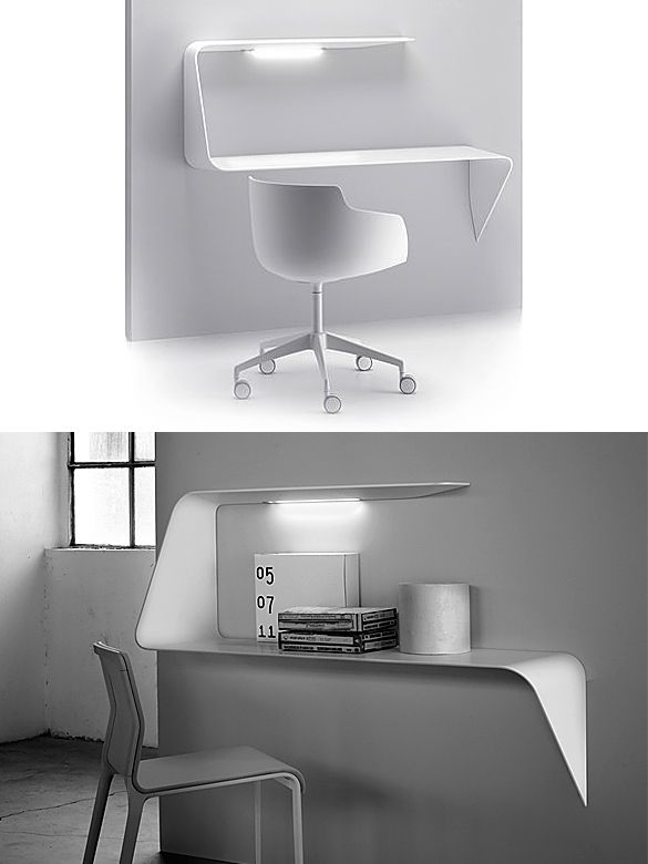 Mamba desk and shelf by victor vasilev for mdf italia for Mdfitalia it