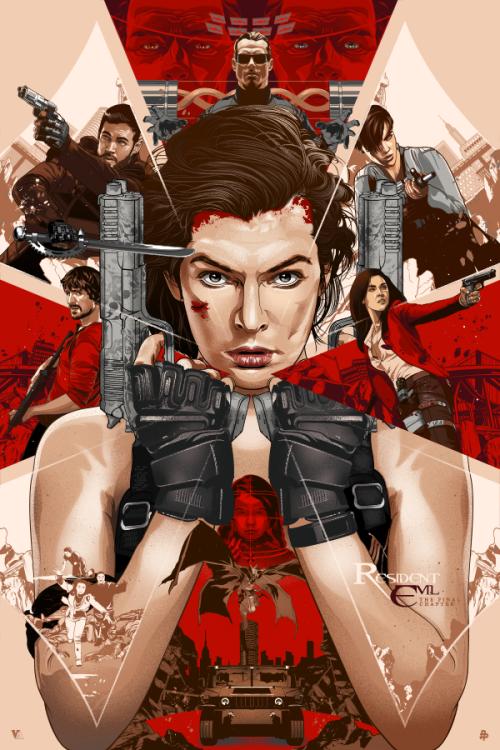 Resident Evil Vincent Rhafael Aseo Peliculas de terror