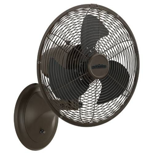 Wall Mounted Oscillating Fan For Small Spaces Wall Mounted Fan