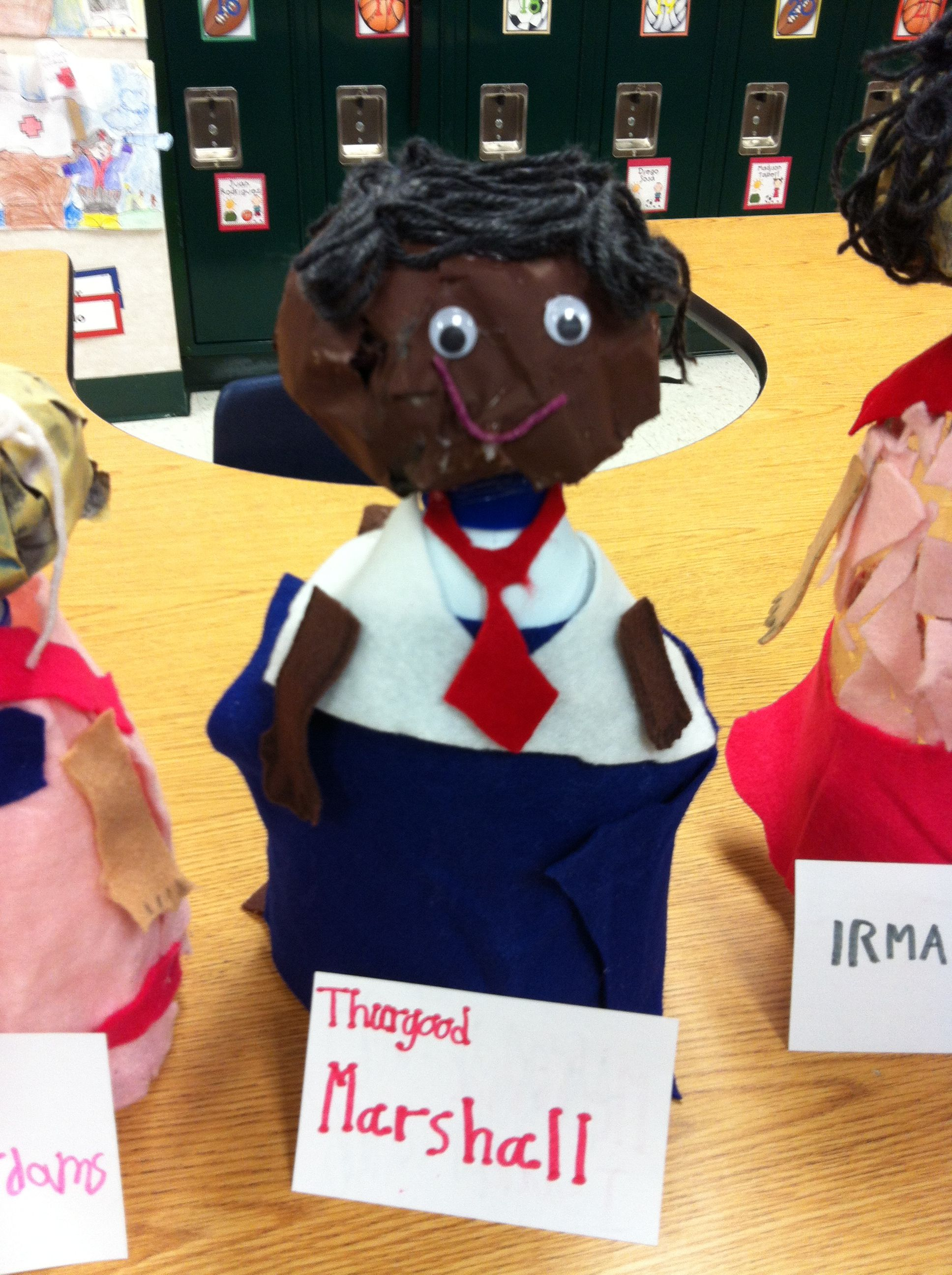 Historical Figures Thurgood Marshall Made By My Second