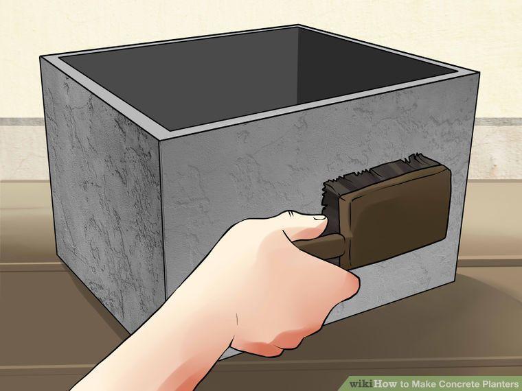 Make Concrete Planters Pflanzkubel Bastelideen Und Pflanzkubel Betonoptik