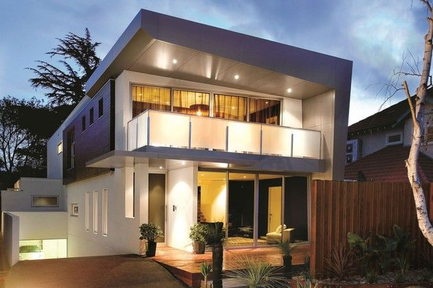 3 Storey Modern House With Timeless Design 3 Storey House Design House Front Design Modern House Plans