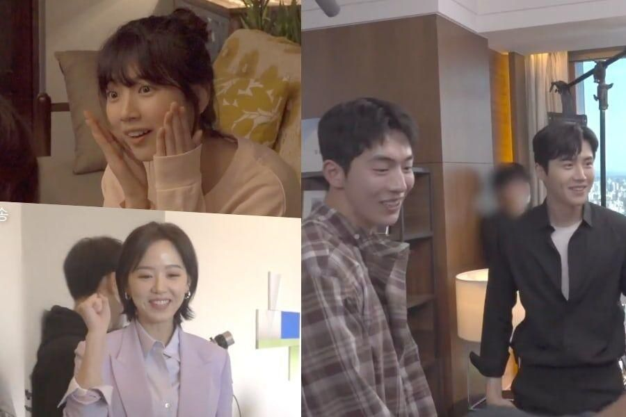 "Watch: Suzy, Nam Joo Hyuk, Kim Seon Ho, And Kang Han Na Stay True To Character On The Set Of ""Start-Up"""