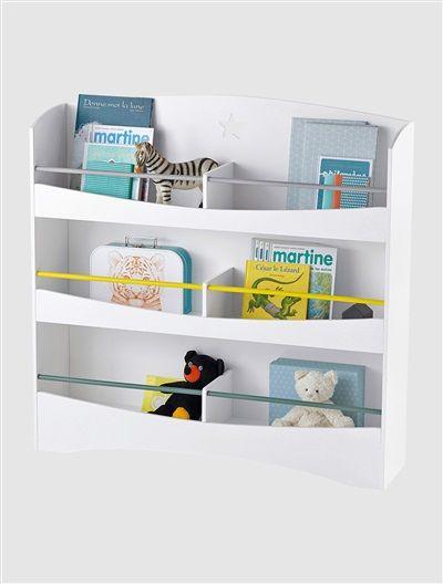 tagre bibliothque extra large BLANC  vertbaudet enfant  Inspiration Maison  Kids bedroom