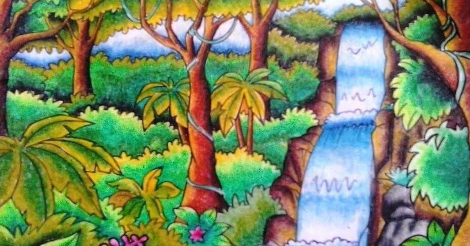 26 Lukisan Pemandangan Air Terjun Senang Lukisan Pemandangan Air Terjun Yang Simple Cikimm Com Download 17 Contoh Gambar P Di 2020 Gambar Pemandangan Seni Krayon
