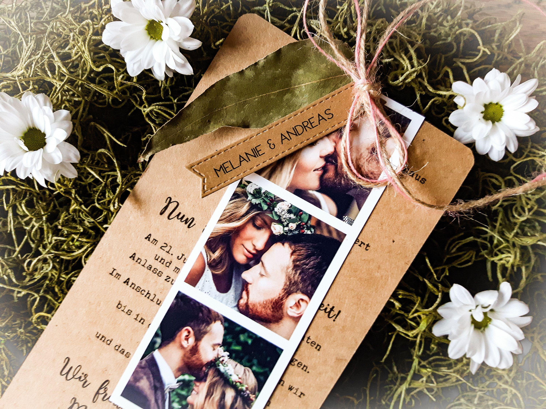 Ahnliche Artikel Wie 10x Einladung Hochzeit Boho Fotostreifen Hochzeitseinladung Vintage Einladungskarte Hochzeitskarten Hochzeitspapeterie Eukalyptus Vintage Wedding Invitations Wedding Invitation Cards Wedding Cards