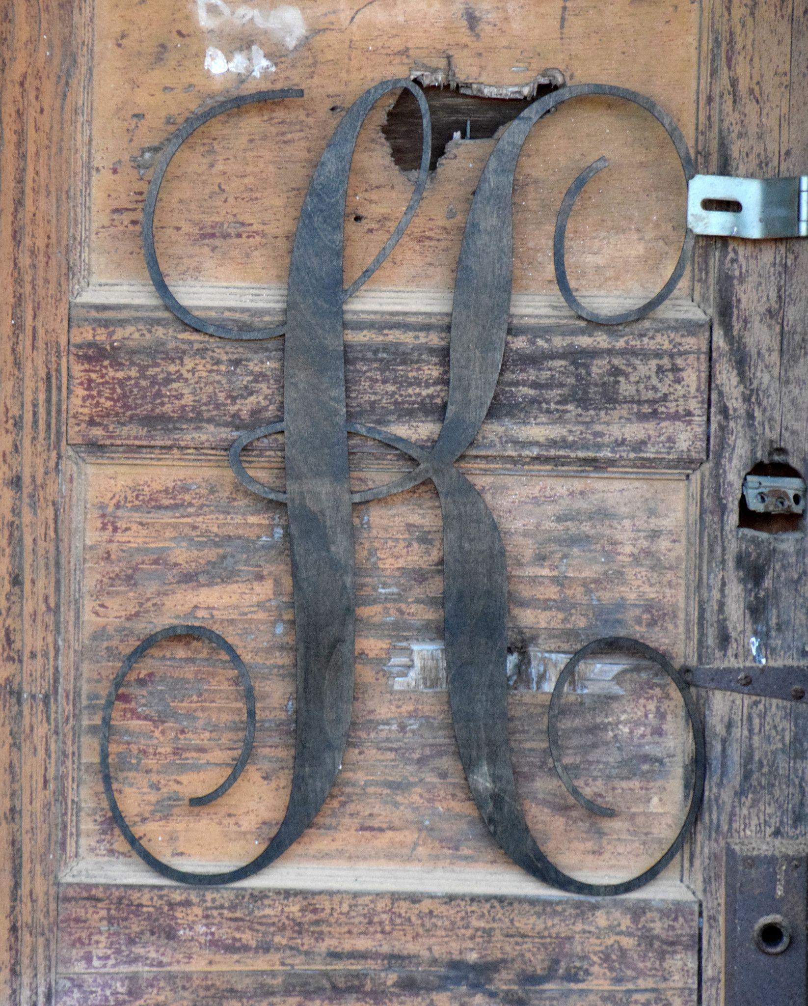 Front Door Wooden Letter Hanger Our Home Pinterest Hanger