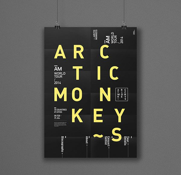 typography poster design inspiration - Google Search