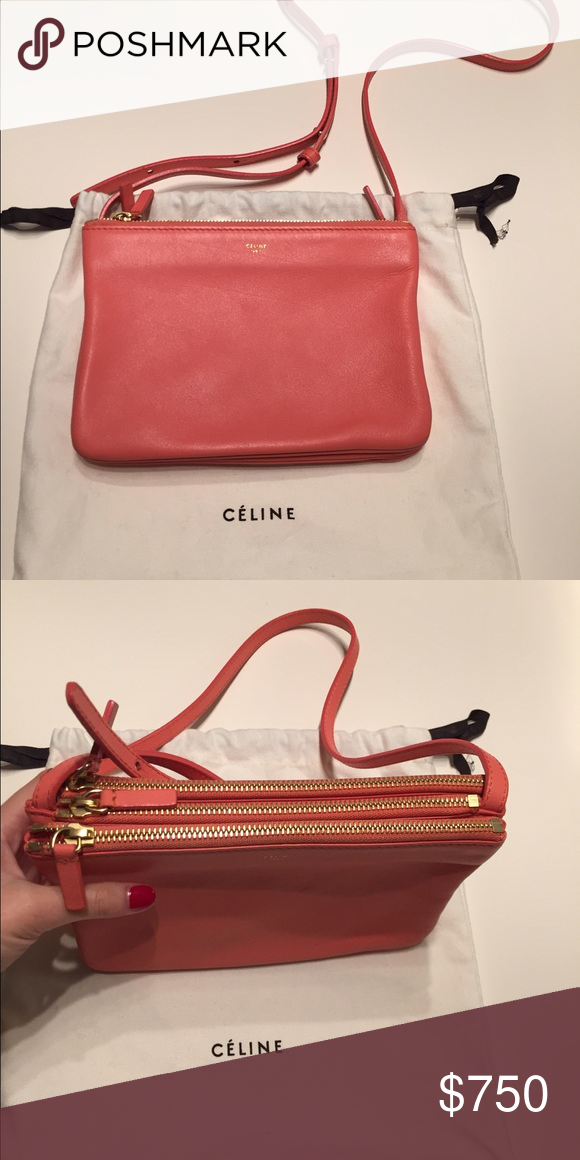 1641a35551 Celine trio crossbody Celine trio crossbody - small size