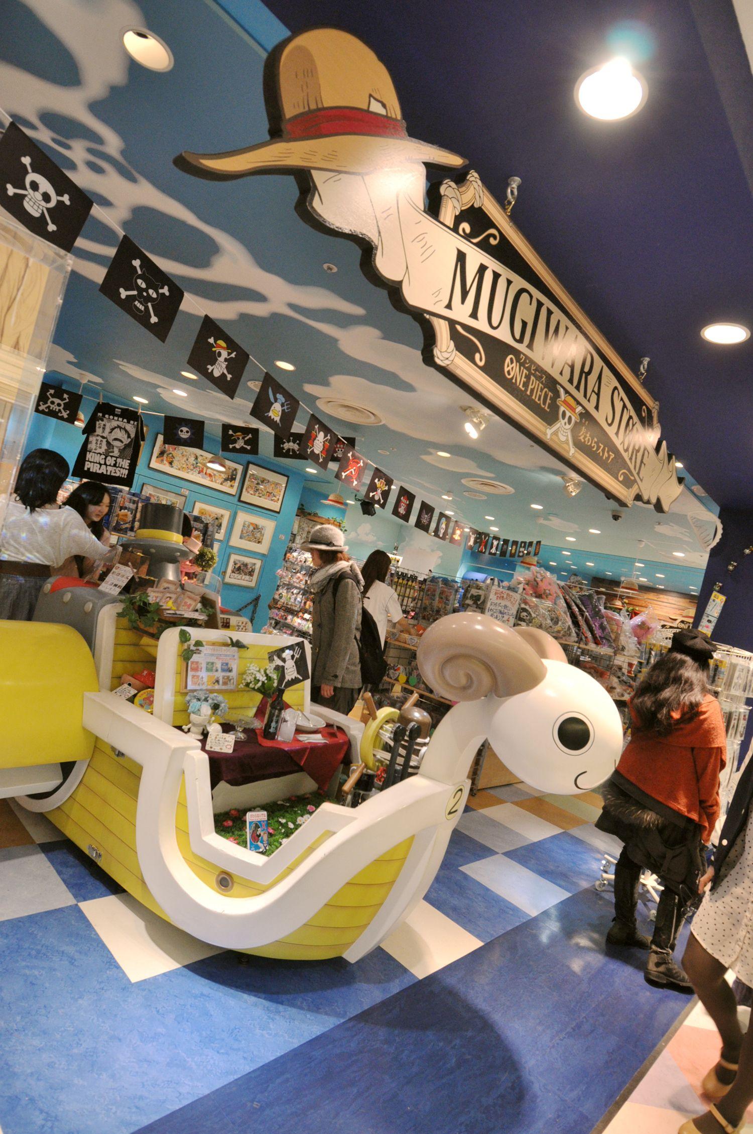 Mugiwara ONE PIECE Store @ Shibuya Parco | Otaku Japan Lover Me