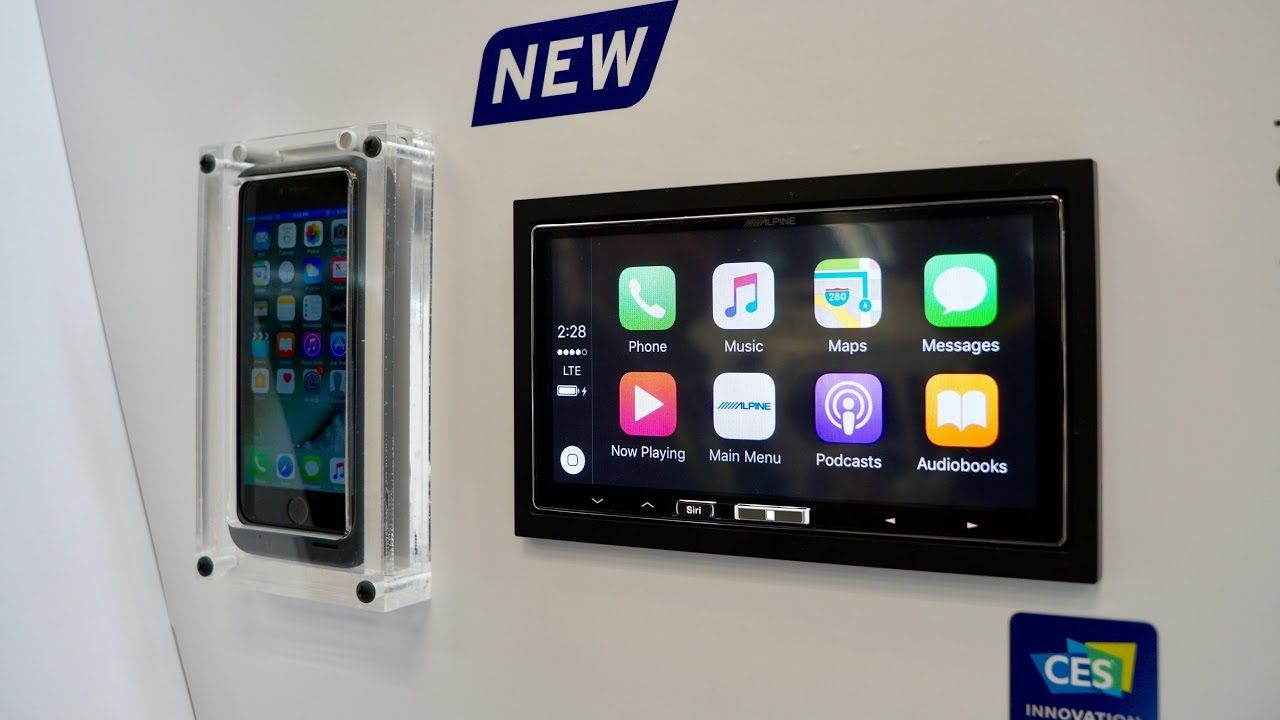 Hands-on with Wireless CarPlay from Alpine's iLX-107 aftermarket