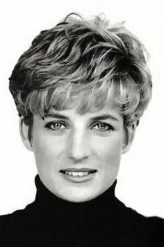 Princess Di Short Pixie Lady Diana Princess Diana Diana
