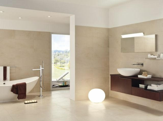 Carrelage salle de bains \u2013 34 idées avec la belle mosaïque