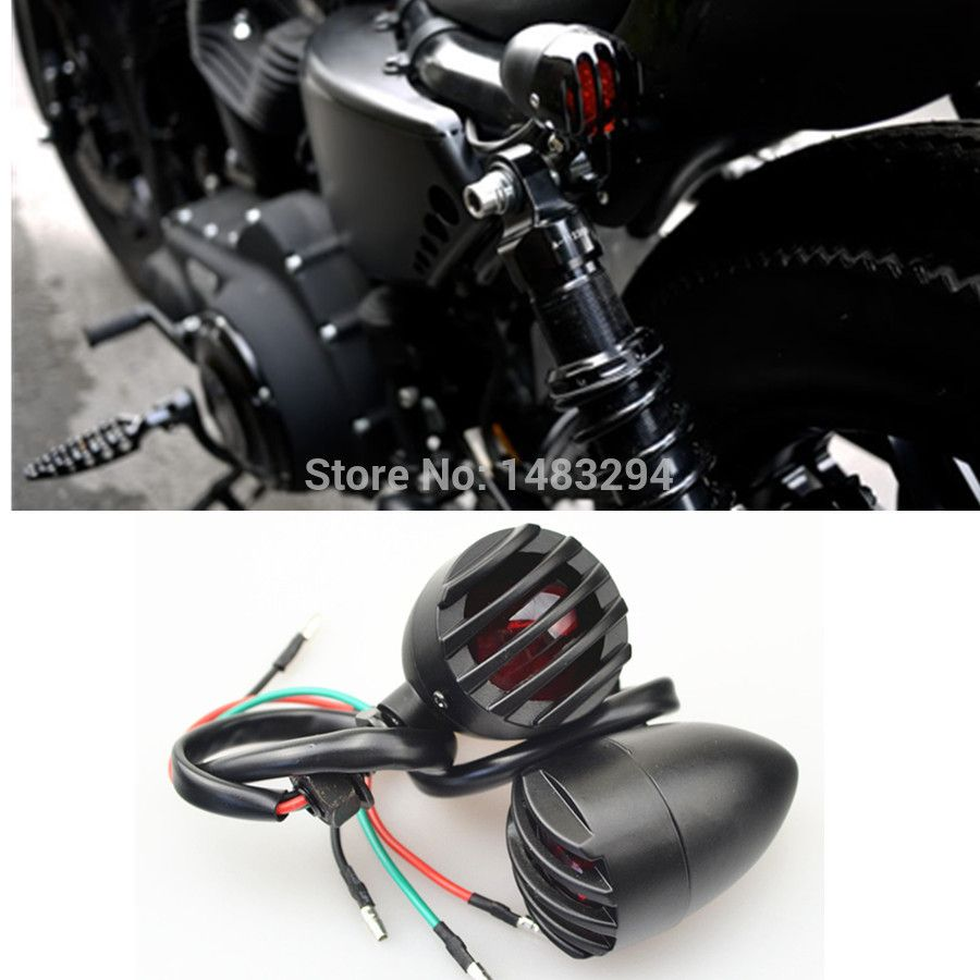 Light Conector Picture More Detailed Picture About Black Bullet Grill Rear Indicators Brake Harley Davidson Sportster Harley Davidson Sportster 883 Sportster