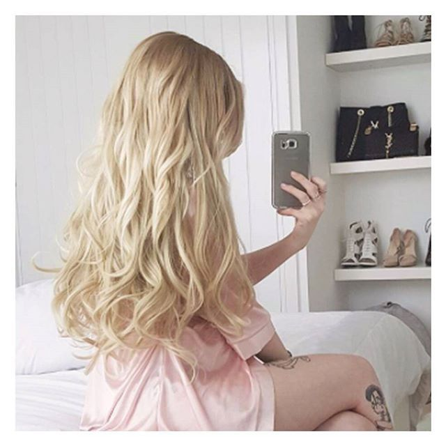 Perfect colour match of golden light blonde and a perfect and wavy hair extensions perfect colour match of golden light blonde and a perfect and effortless wavy look pmusecretfo Images