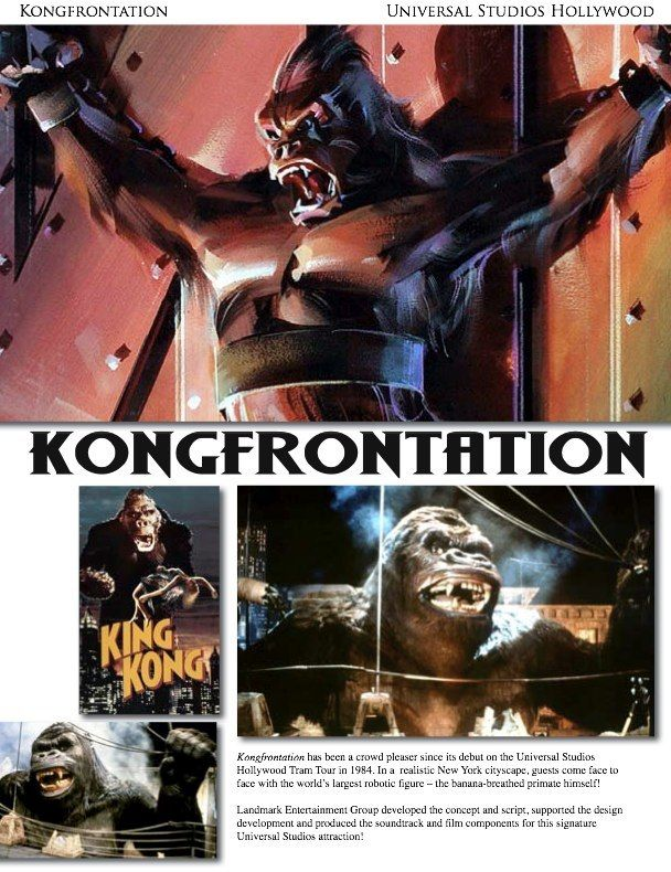 Kongfrontation fact Sheet | Theme Park Attraction Fact ...