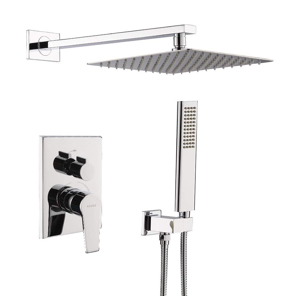 Kojox Shower System With High Pressure Rainfall Shower Head