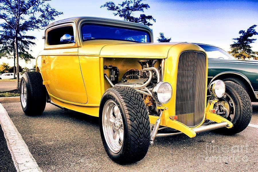 Pin by John Murphy on Yellow Hot Rods   Pinterest   Cars