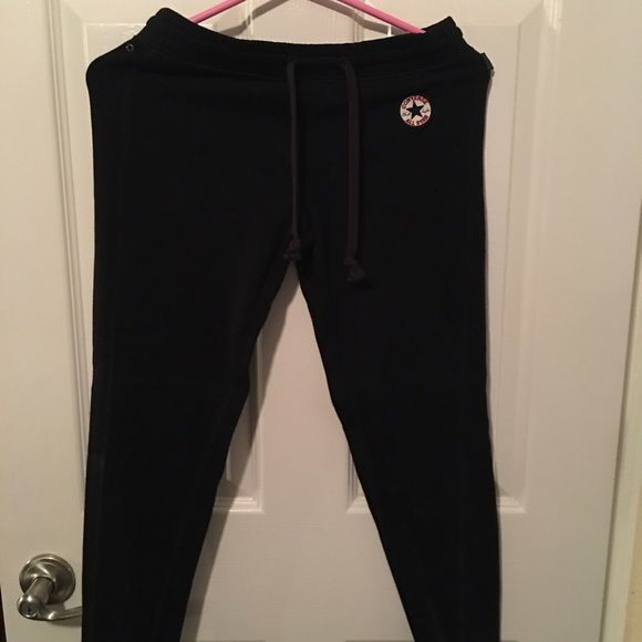 Converse joggers Cute joggers wore them once. Excellent condition. Converse Pants Track Pants & Joggers