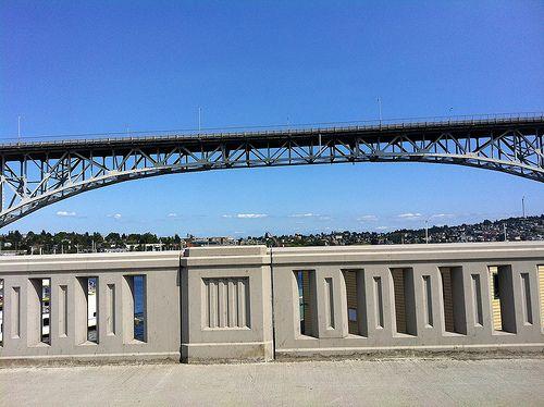 Waiting on the Fremont bridge