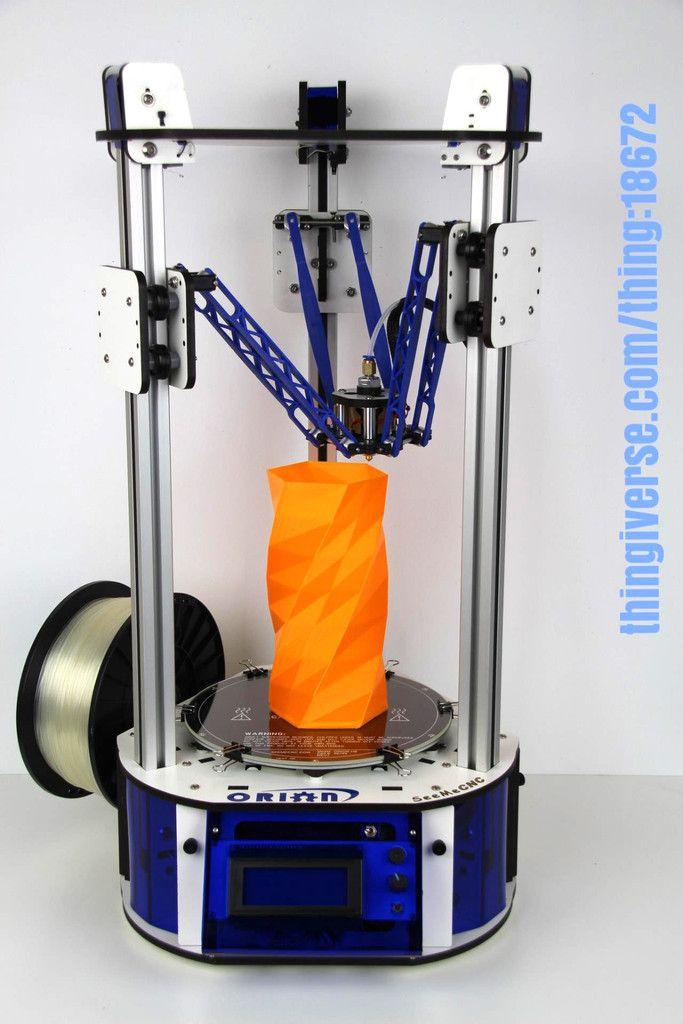 ORION Delta™ Desktop 3D Printer RTP™