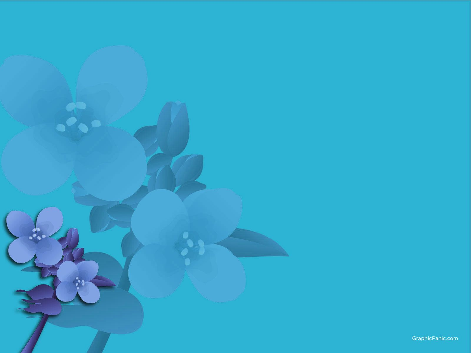 Flower Background Powerpoint Background And Templates Powerpoint
