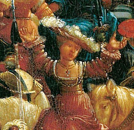 Artist: Altdorfer, Albrecht, Title: Schlacht bei Issus (Alexanderschlacht), Detail [1/7] Date: 1529