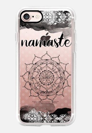 Casetify iPhone 7 Classic Grip Case - Namaste I by Li Zamperini Art #Casetify