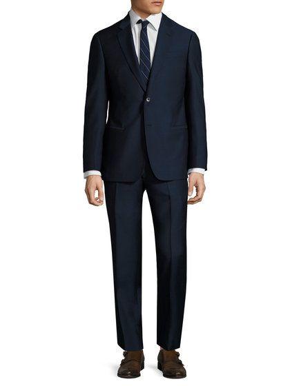 Woven Notch Lapel Suit