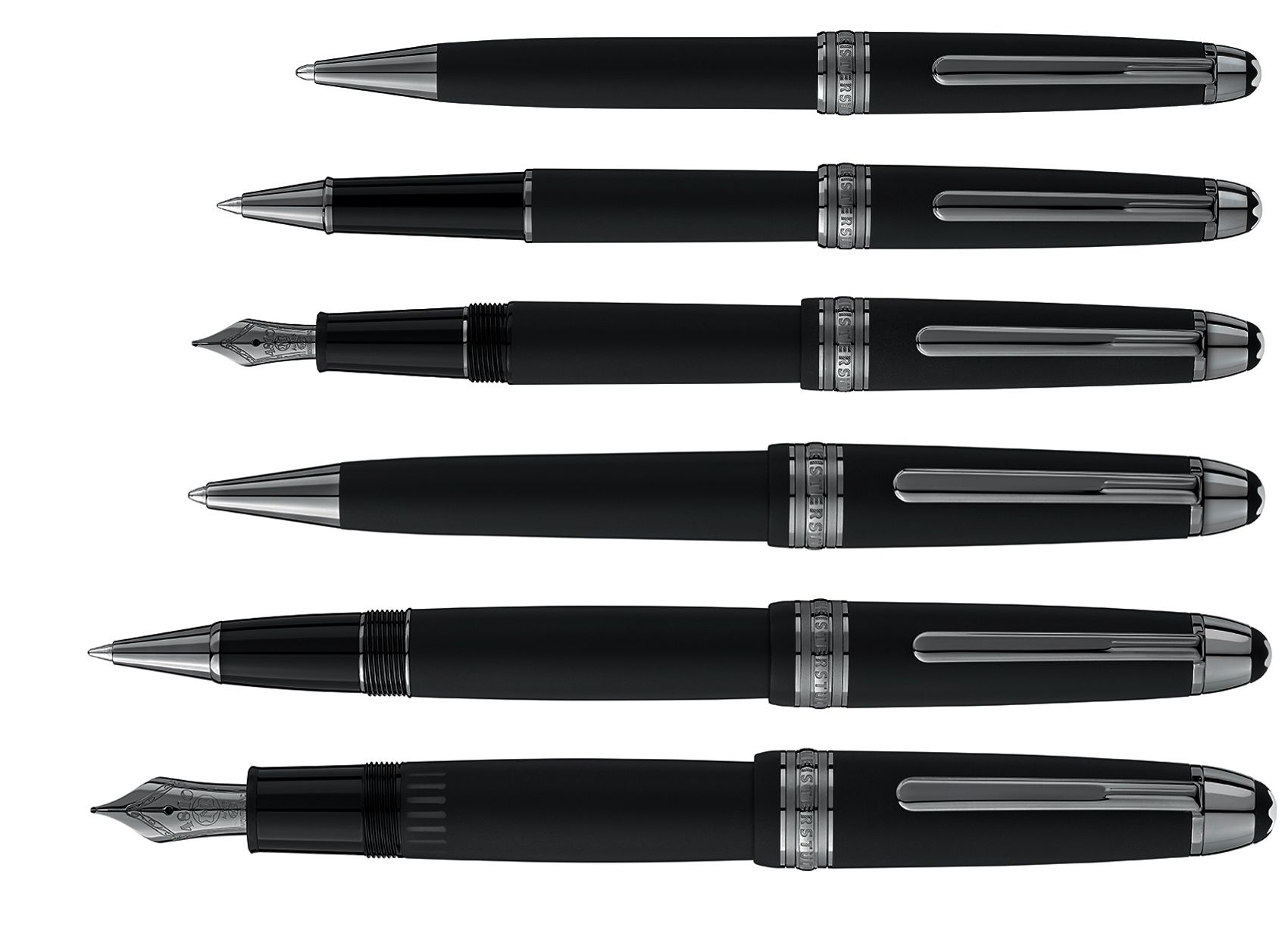 6f69ae5cc44 The new Montblanc Meisterstück Ultra Black Special Edition reveals a  completely…