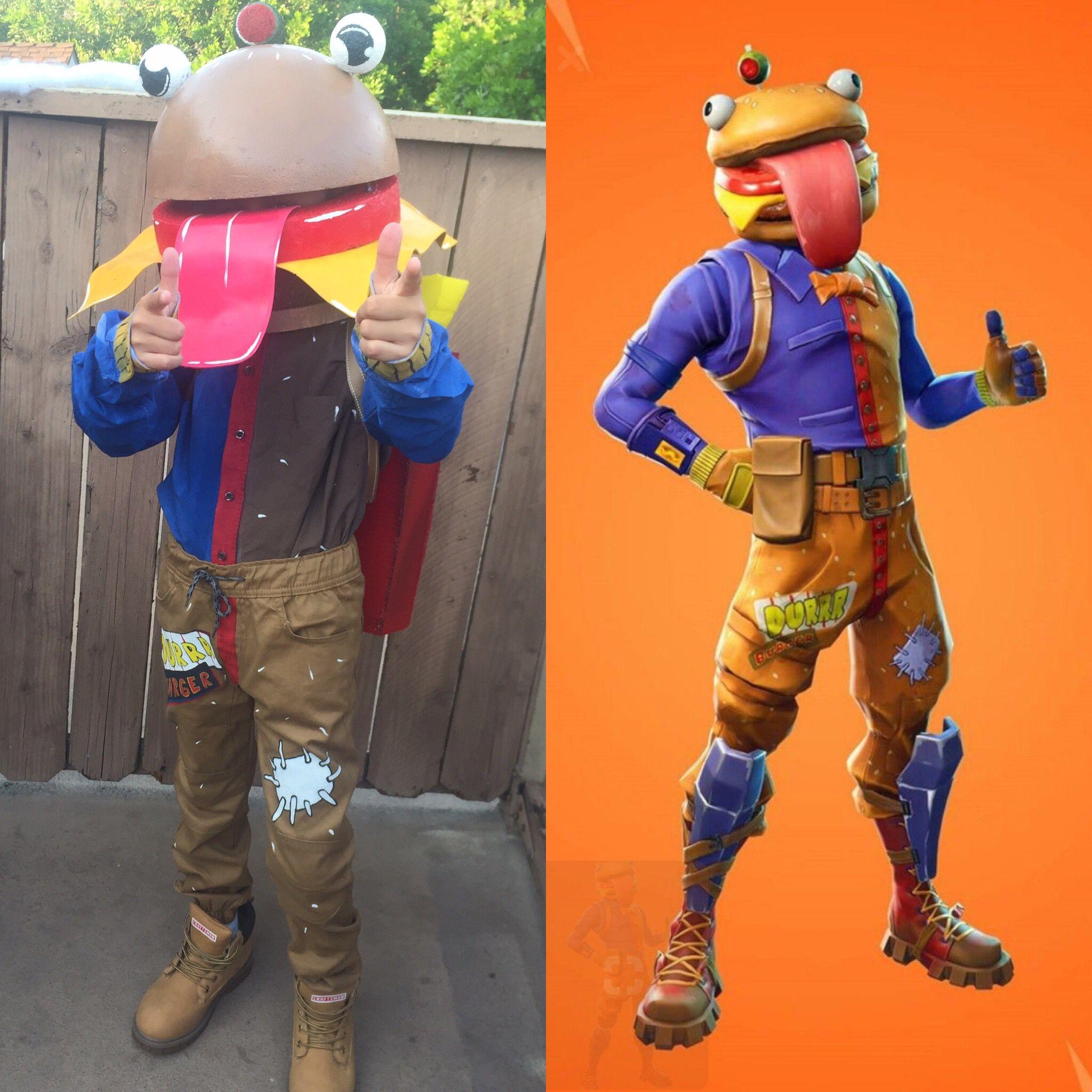 Fortnite Beef Boss Costume Burger Costume Boy Costumes Costumes
