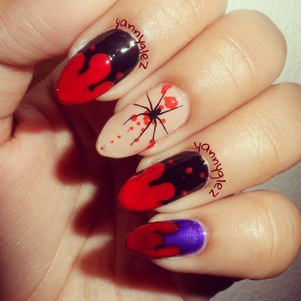 People who like this in 2020 | Halloween nail designs ...