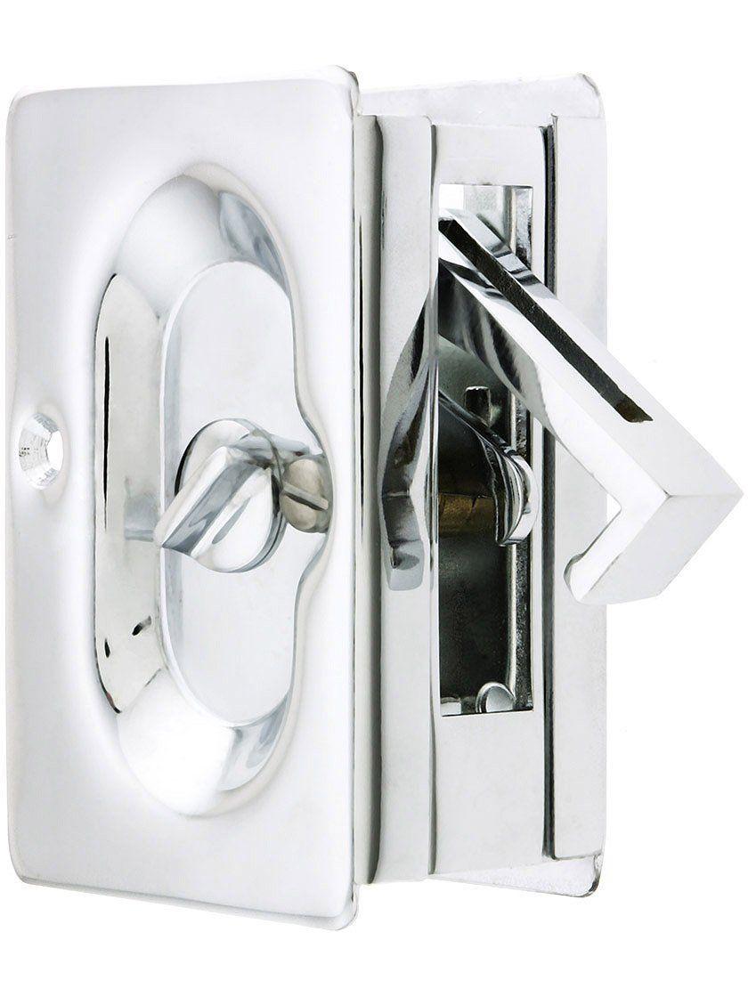Exceptional Emtek Pocket Door Privacy Lock Polished Chrome Correction Emtek Pocket Door Privacy Lock Polished Chrome Correction Emtek Sliding Door Hardware Emtek Pocket Door Hardware 2105